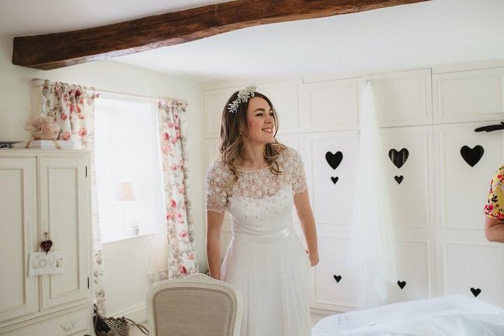 smiley bride