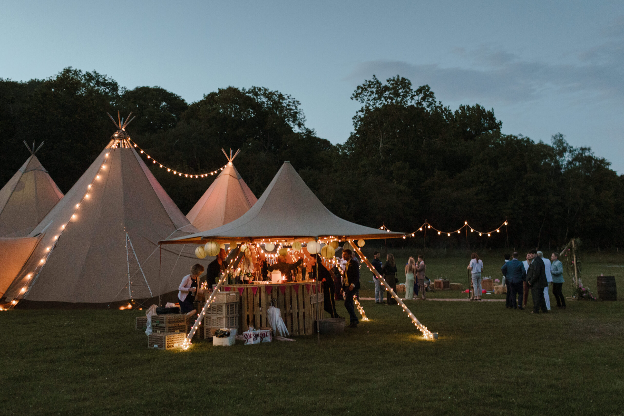 Little Hat Tipi by Sami Tipi perfect for a bar, relaxed seating or even a small outdoor al fresco dining space