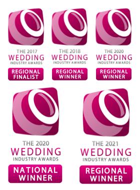 Winners Of Many Wedding Industry Awards