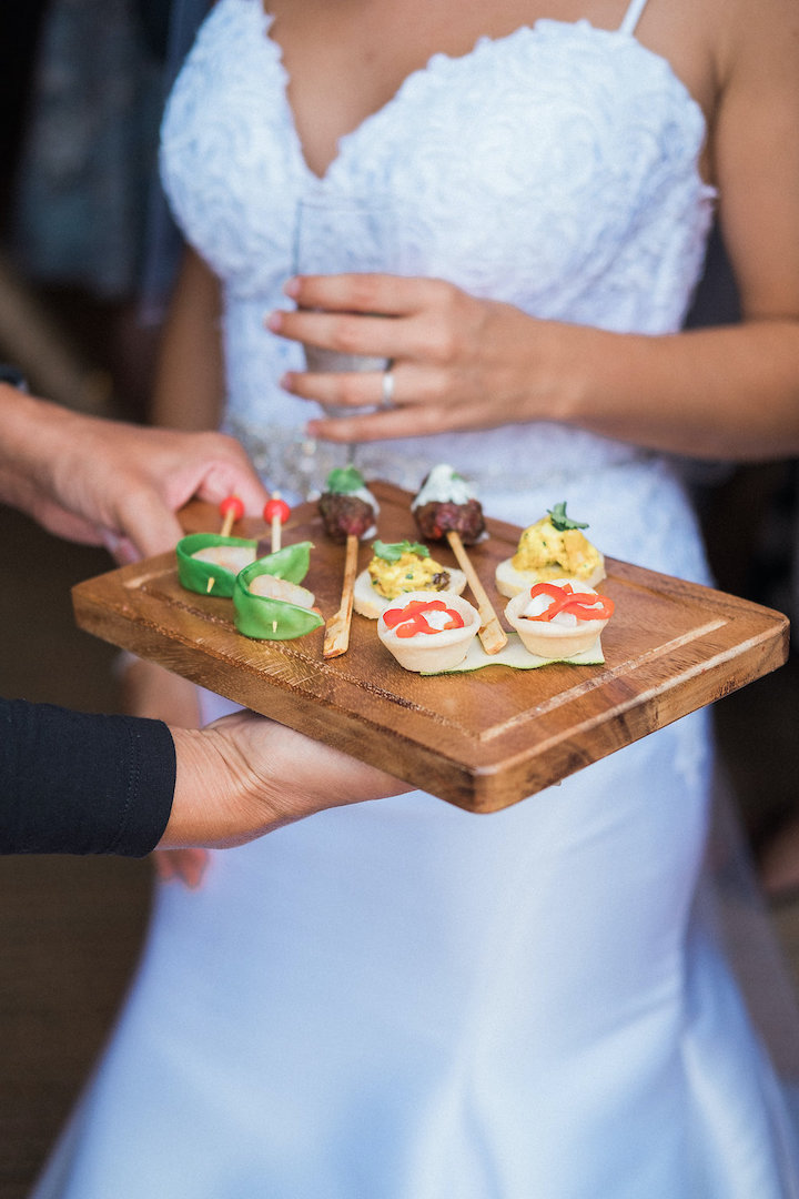 daytime catering canapes