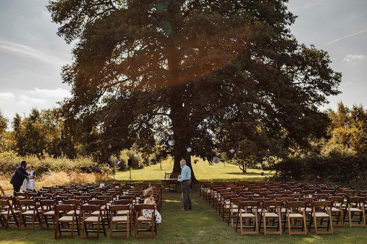 Bawdon Lodge Farm Tree Ceremony