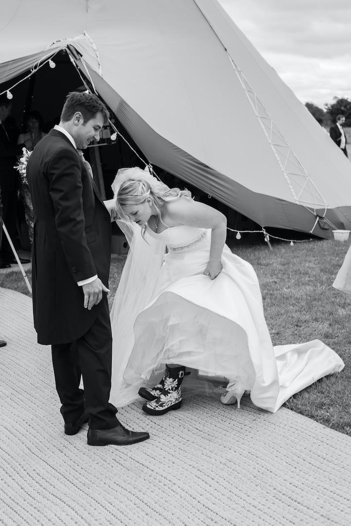Intimate Tipi Wedding