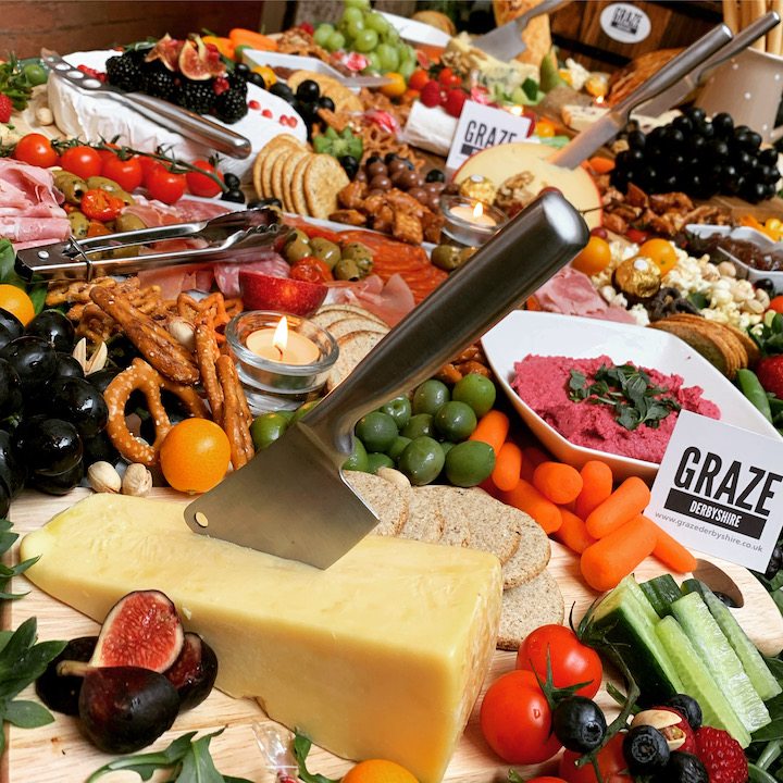 grazing table