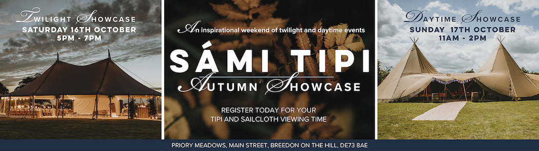 Sami Tipi Autumn Open Weekend 16th and 17th October 2021